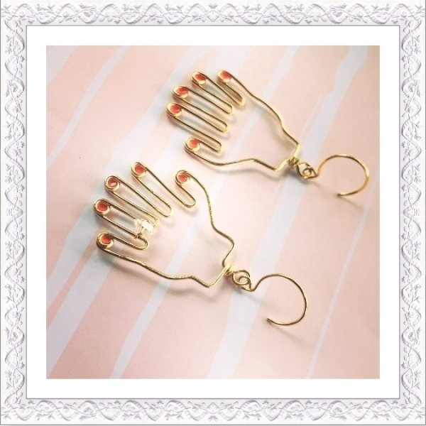 画像1: Hands Pierce/Earring (1)