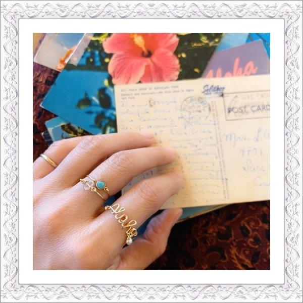 画像1: Lettered Ring (1)