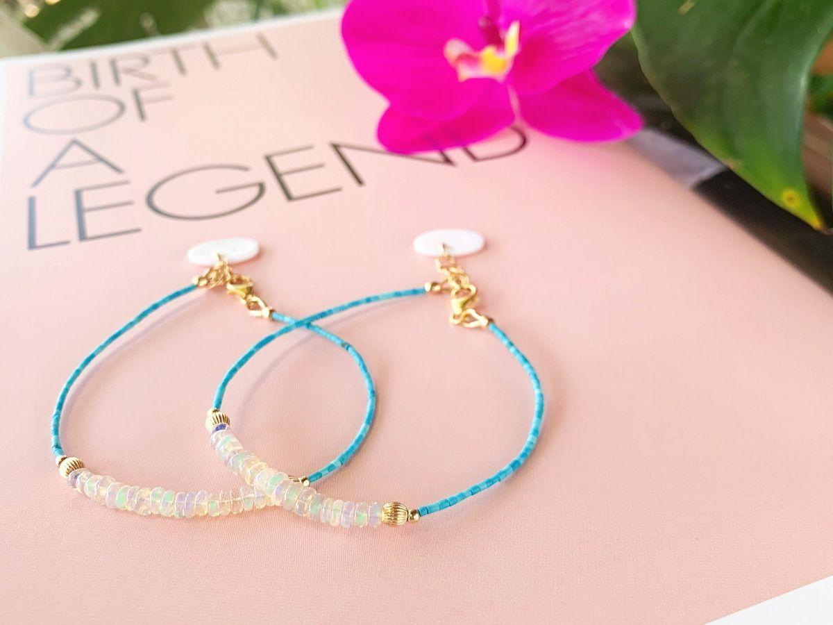 Opal & Turquoise Bracelet
