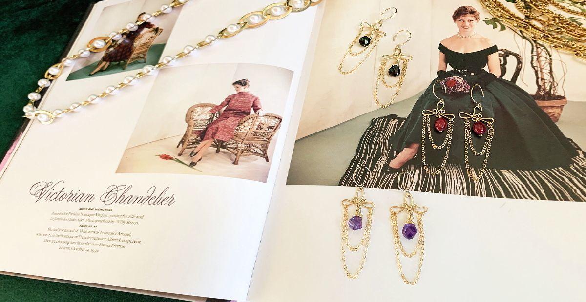 Victorian Chandelier Pierce/Earring